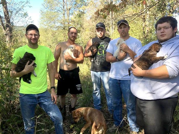 Мальчишник в лесу превратился для 8 мужчин в спасательную миссию