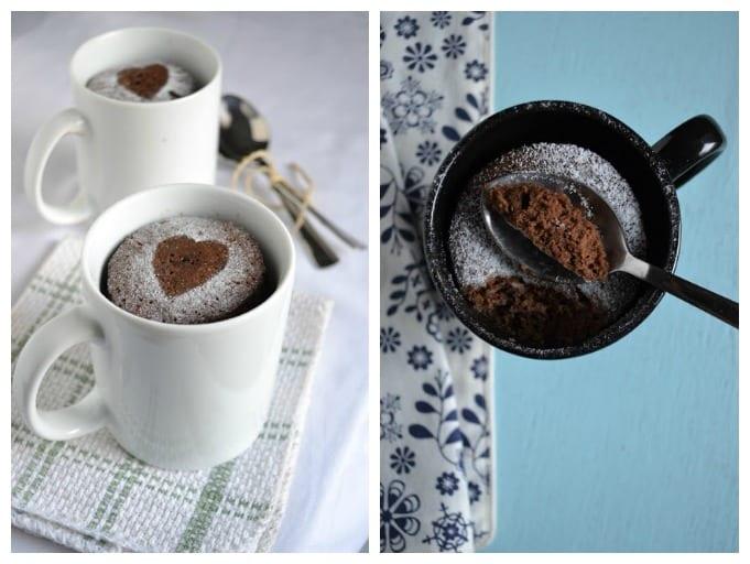 3 рецепта кексов, которые готовятся за 5 минут