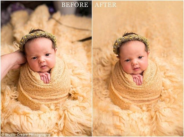 Секреты съемки младенцев в оригинальных позах