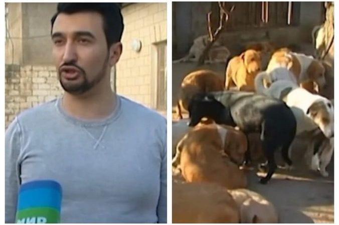 Молодой человек спас уже больше 350 искалеченных собак
