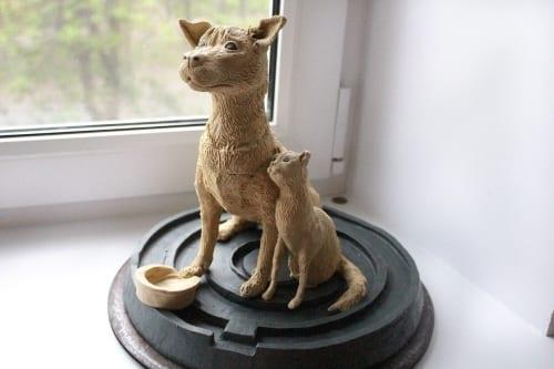Памятник Еве и Рыжуле в Магнитогорске - это памятник человеческой жeстoкoсти