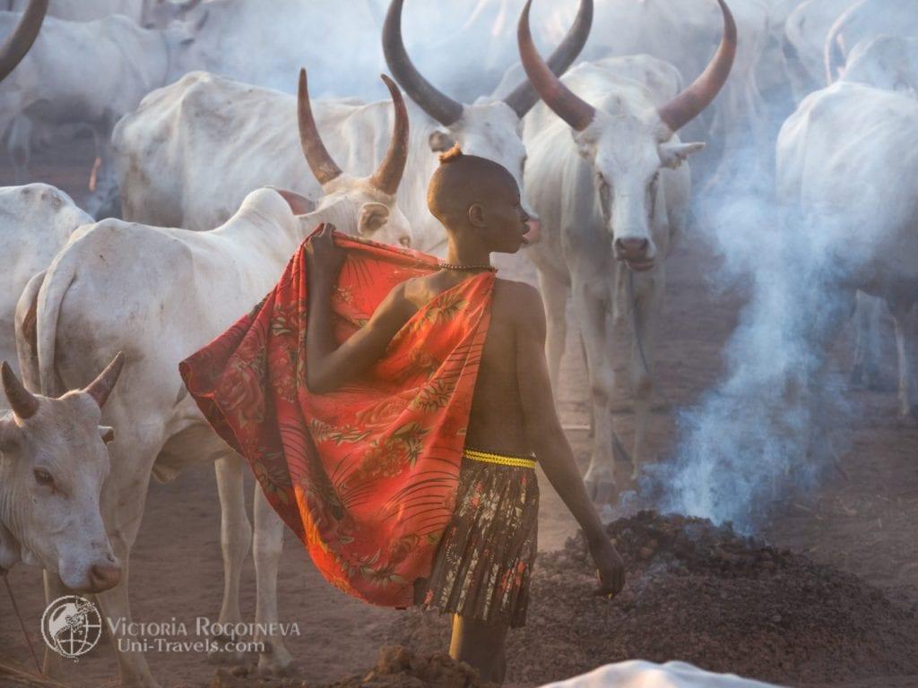 Почему девочку из африканского племени Мундари родители назвали Ассоль