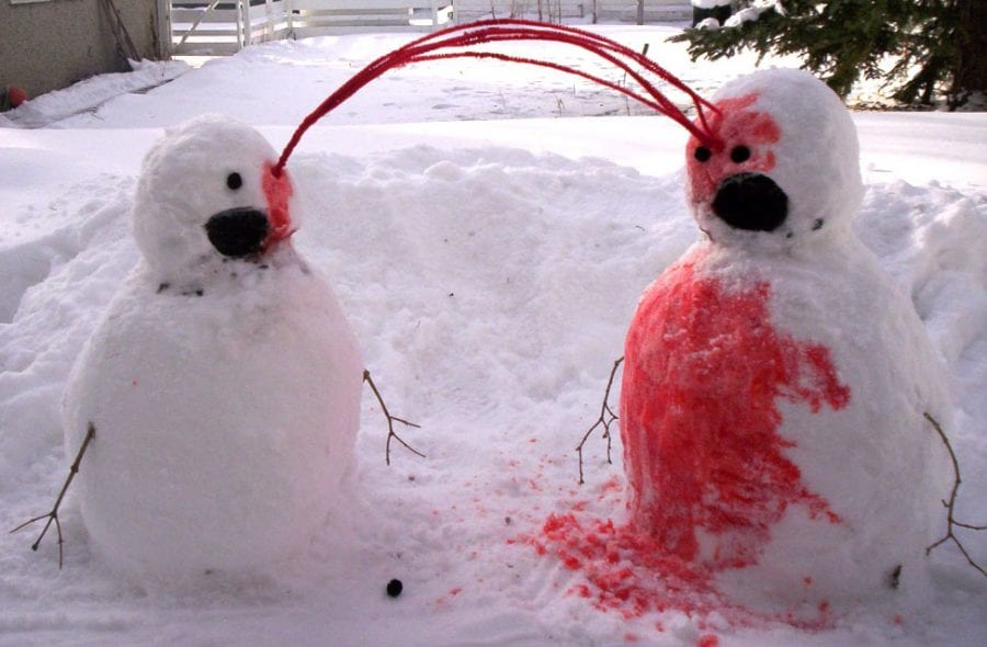Подборка фото отпадных авторских снеговиков