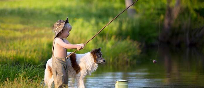 Как рыбалка с Рексом помирила моих родителей