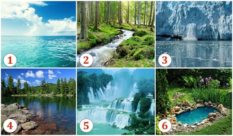 Психологический тест: Выберите водоем и узнайте о своем характере